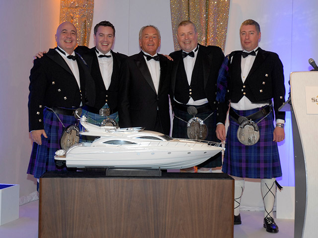 Sunseeker Distributor of the Year Award 2009